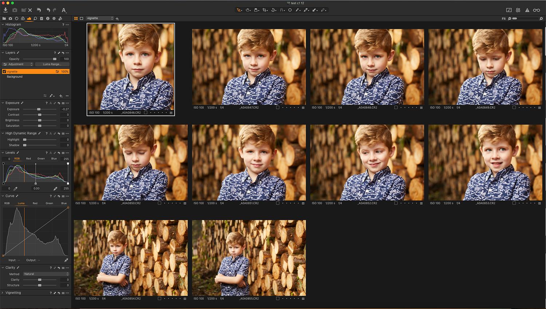Screenshot of intelligent copy