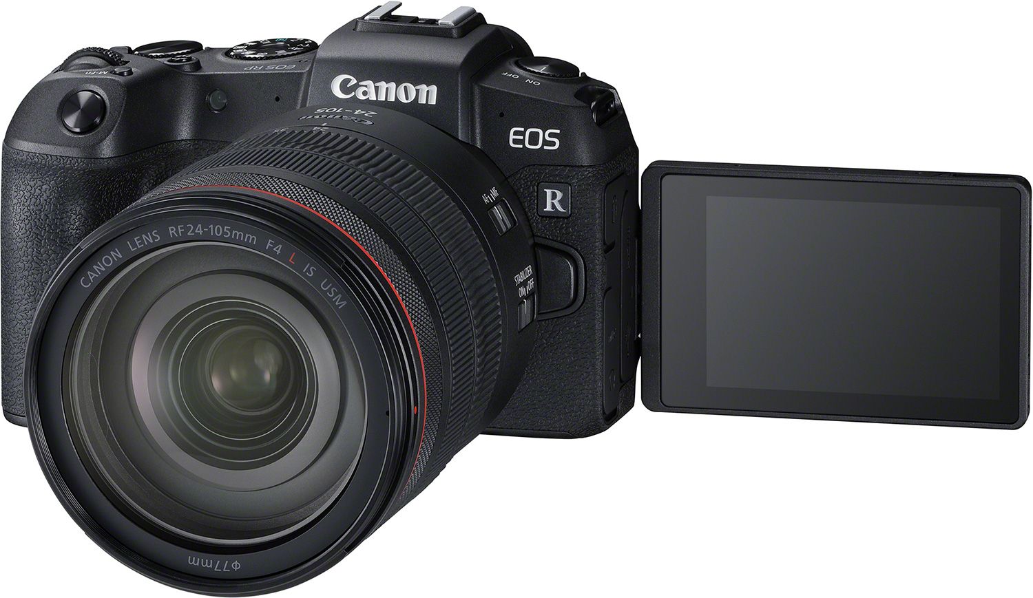 EOS RP camera with 24-105