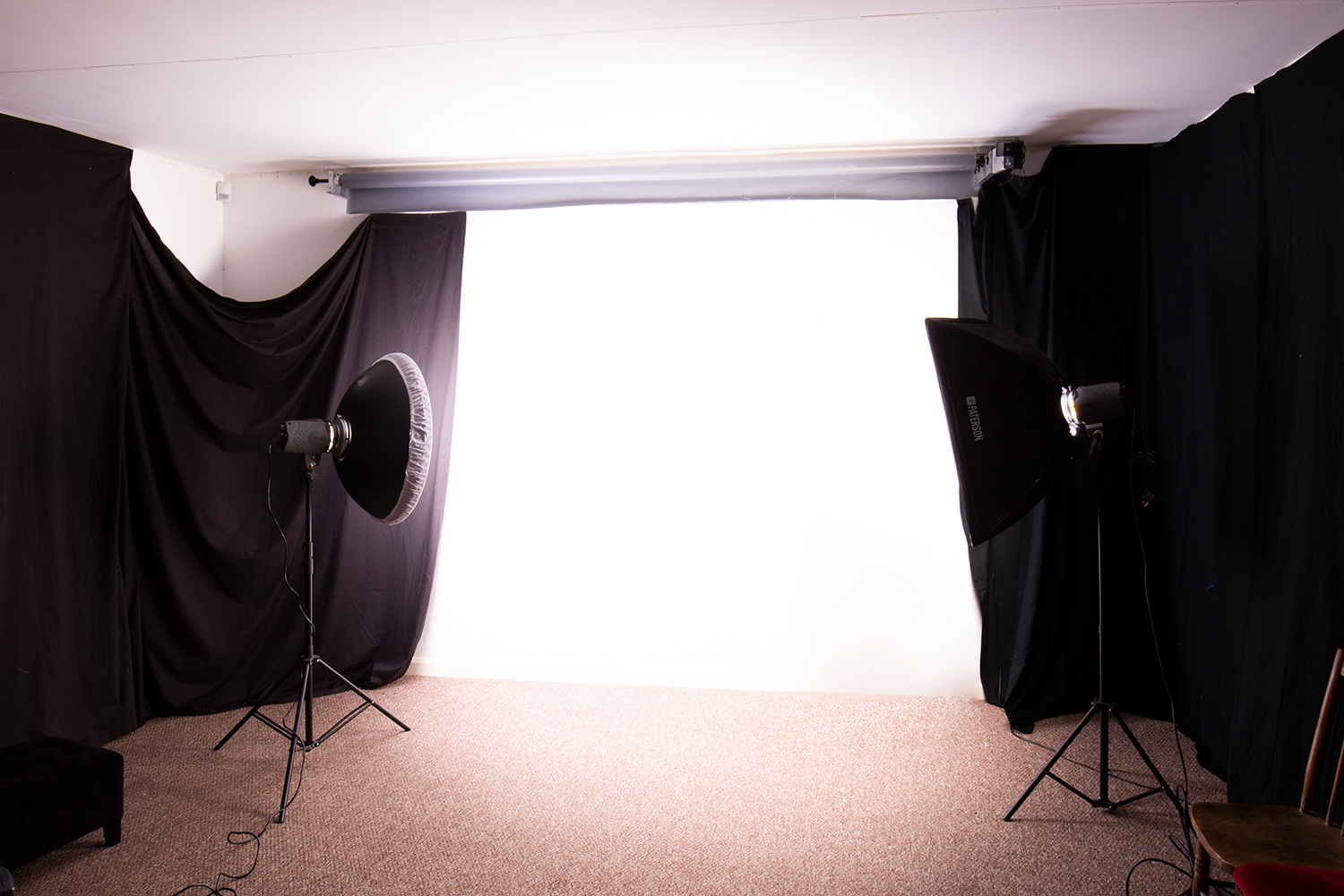 Image: When lighting your background, take the time to ensure that it is evenly lit. This will ensur...