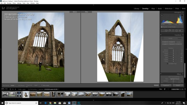 How to Use the Lightroom Transform Tool