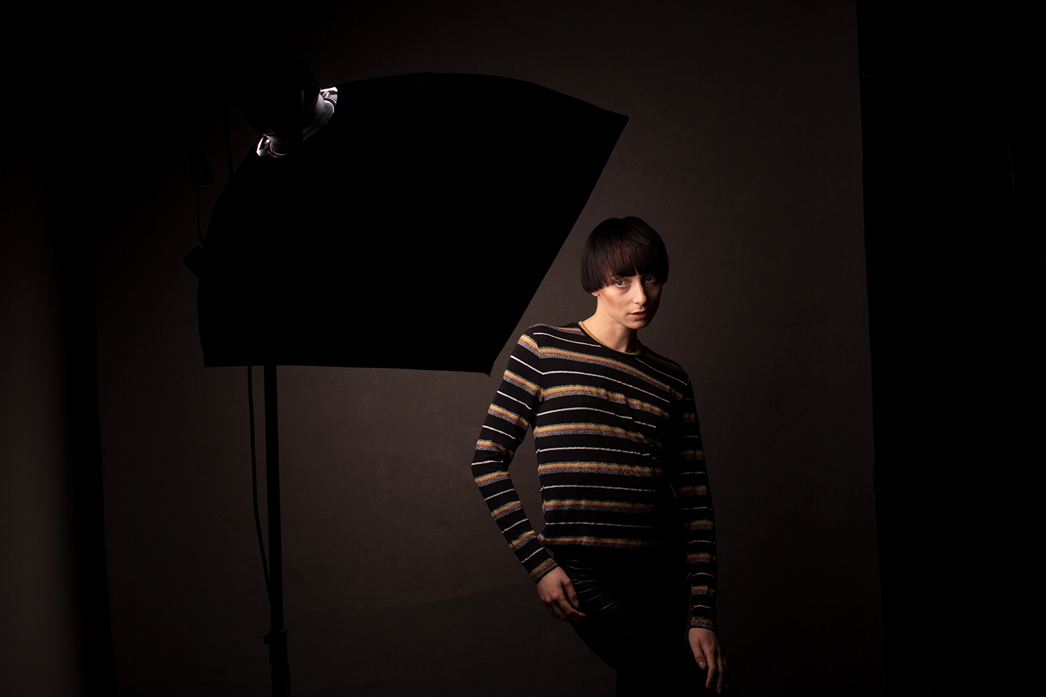 Image: Setting up for broad lighting couldn't be easier. Just have your subject turn away from...