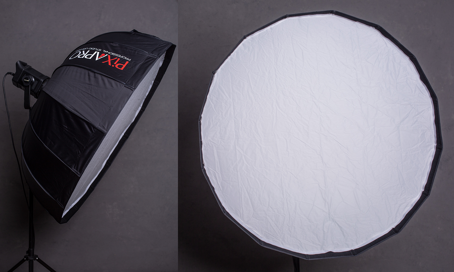 Image: The Rice Bowl is a large softbox with an unusual shape.