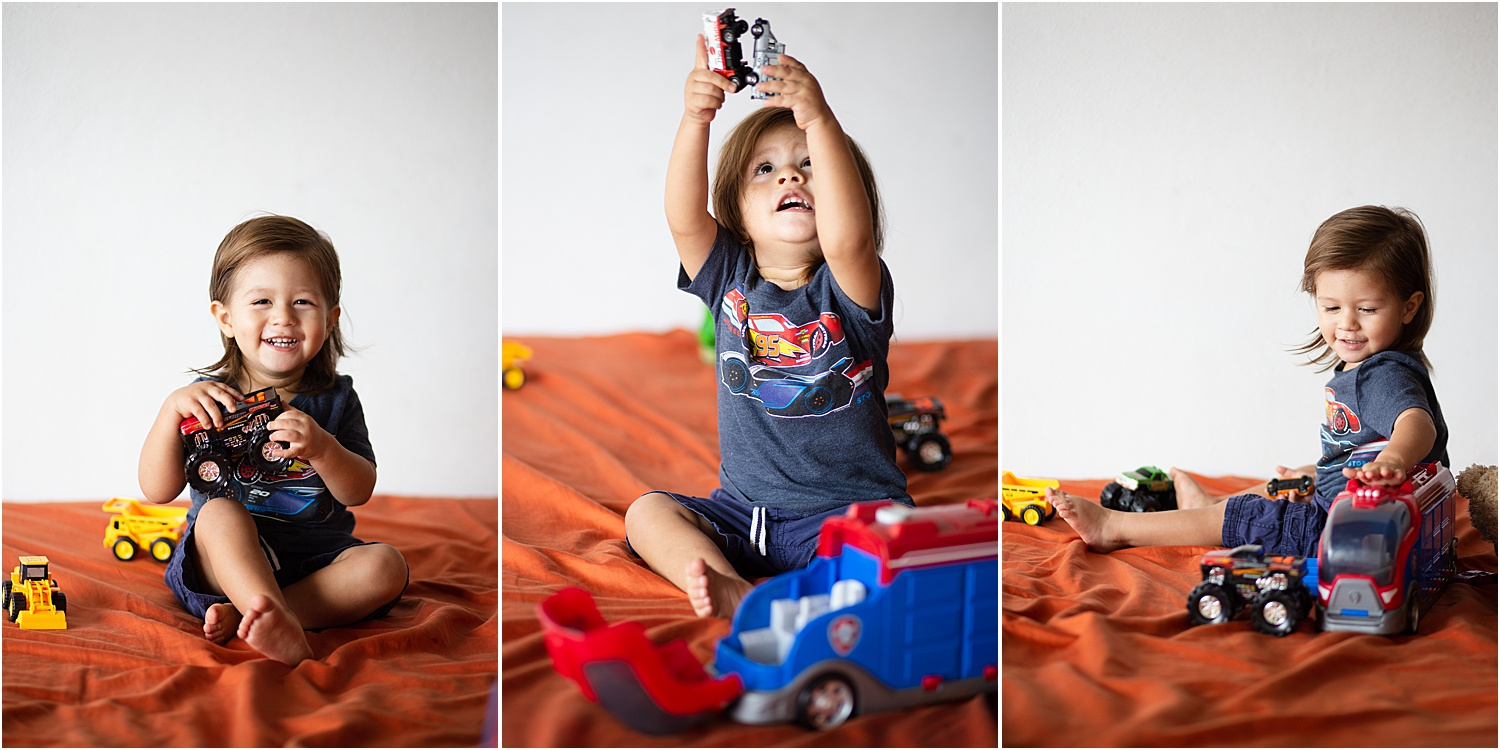 Image: With children, you can capture them playing with their toys and also get posed photos during...