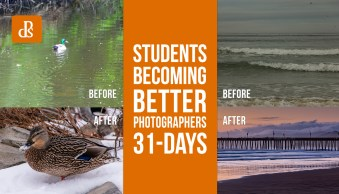 Before and After: Students Becoming Better Photographers After 31 Days Course