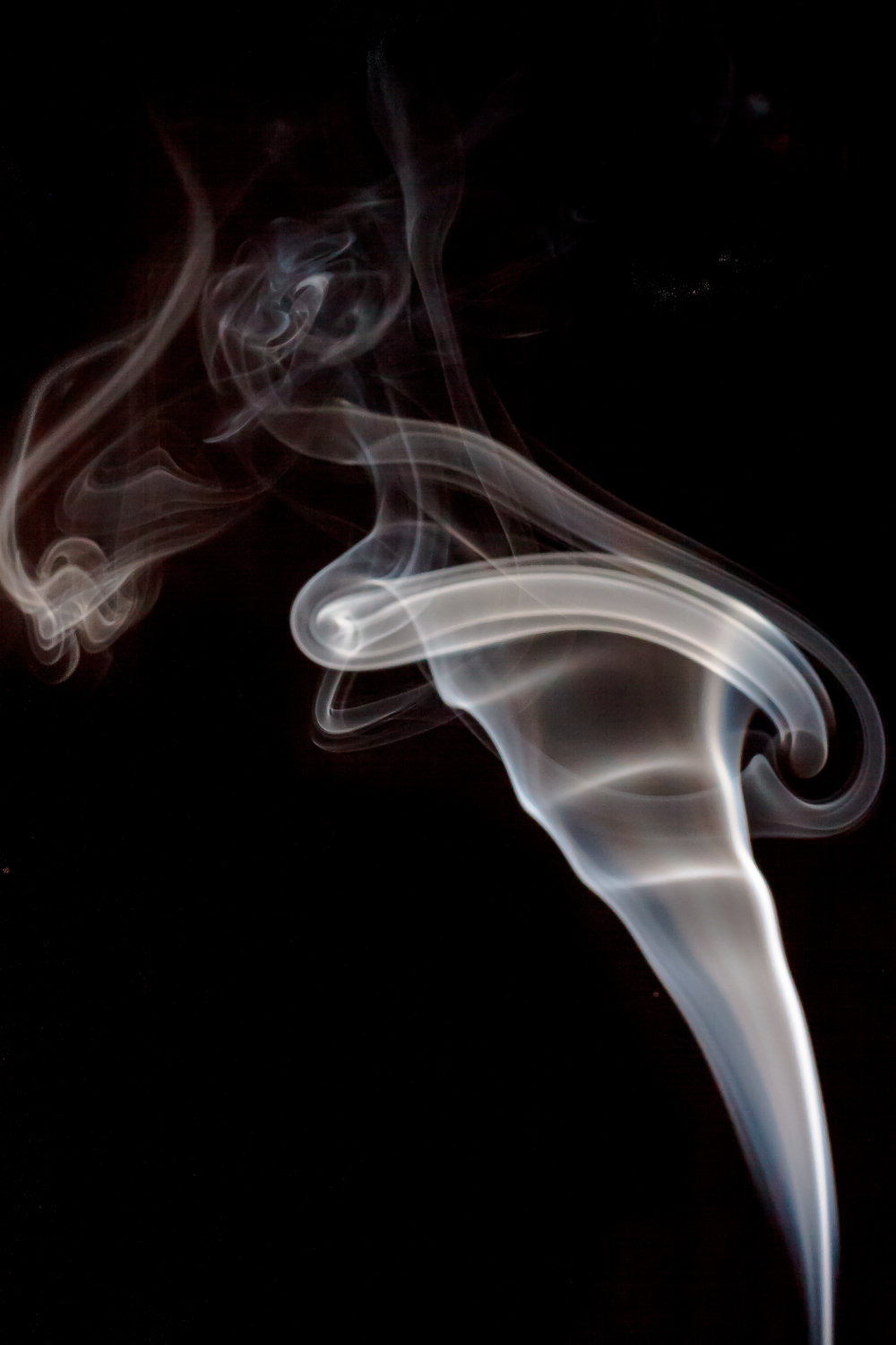 Abstract Smoke Photography - smoke photo straight out of camera