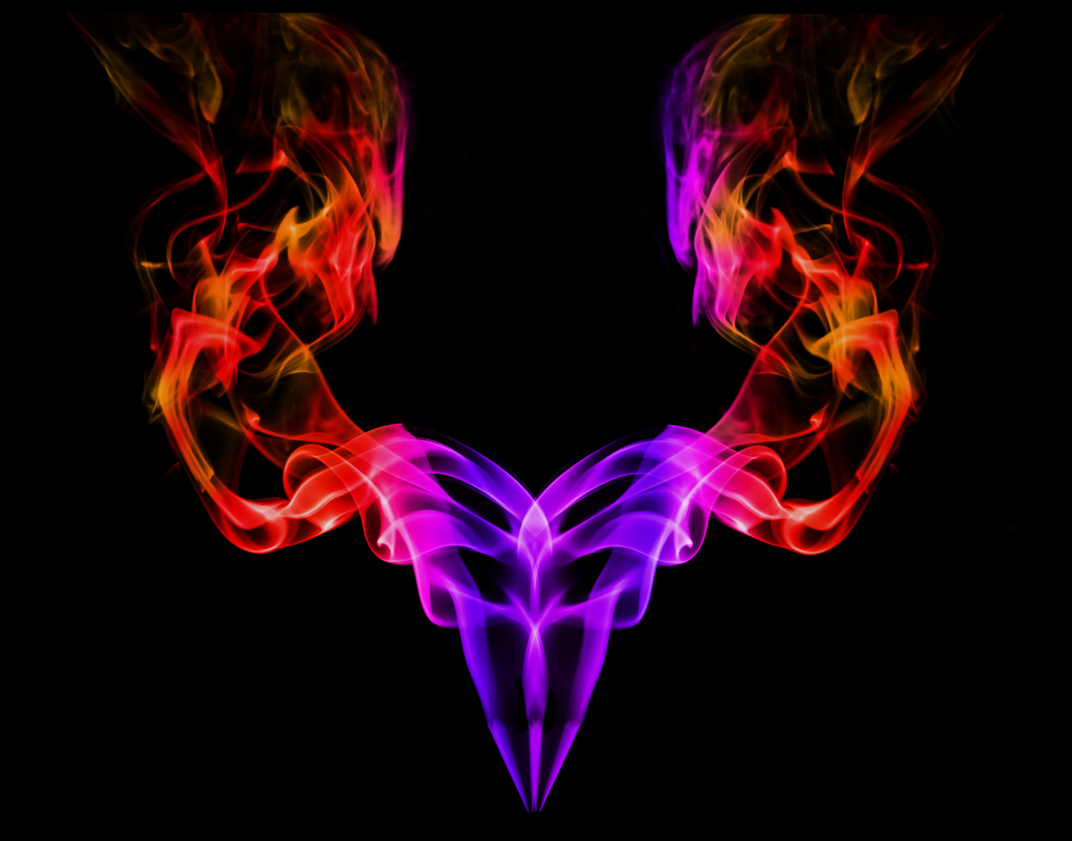 Abstract Smoke Photography - The Witch Doctor