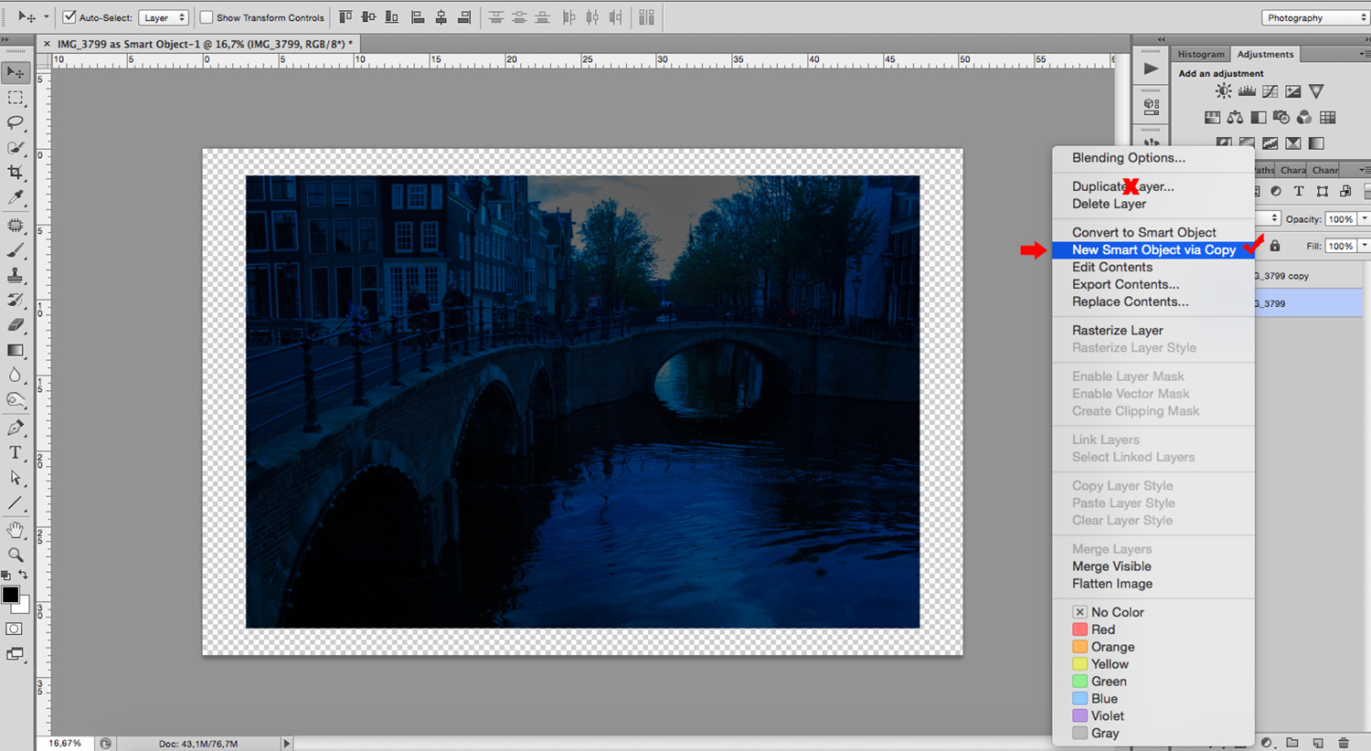 How to Turn Day to Night Using Photoshop for Urban Landscapes