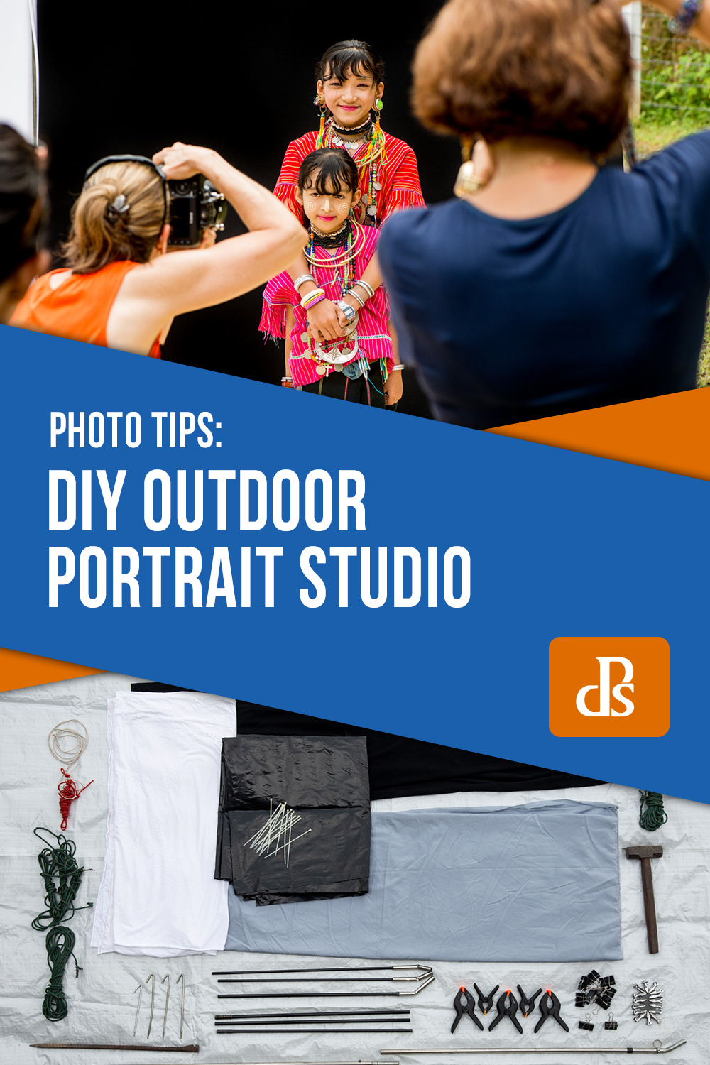 How To Use an Outdoor Studio for Natural Portraits