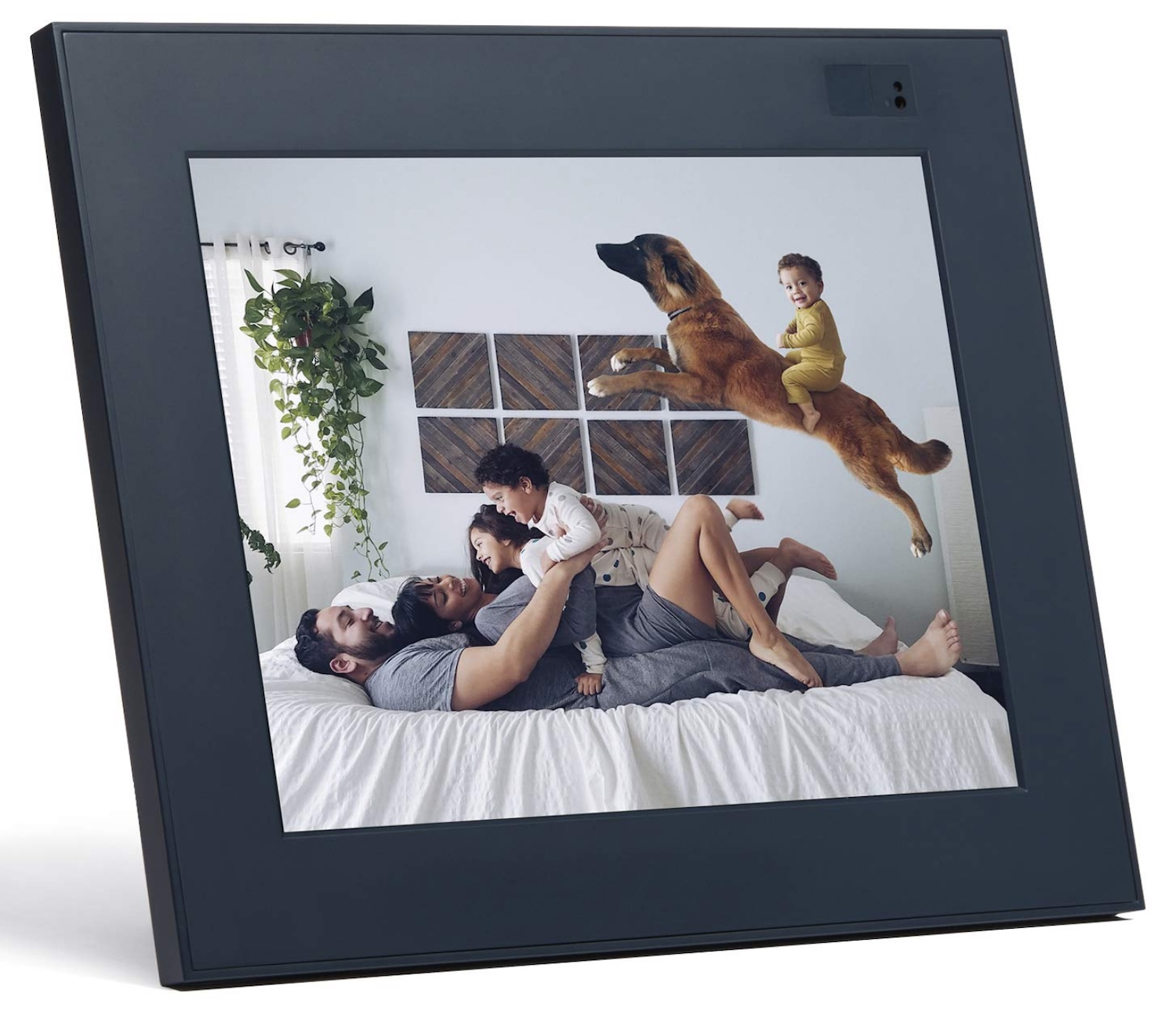 Image: Aura makes a 9.7-inch frame with 2048×1536 resolution, which shows your memories in cris...