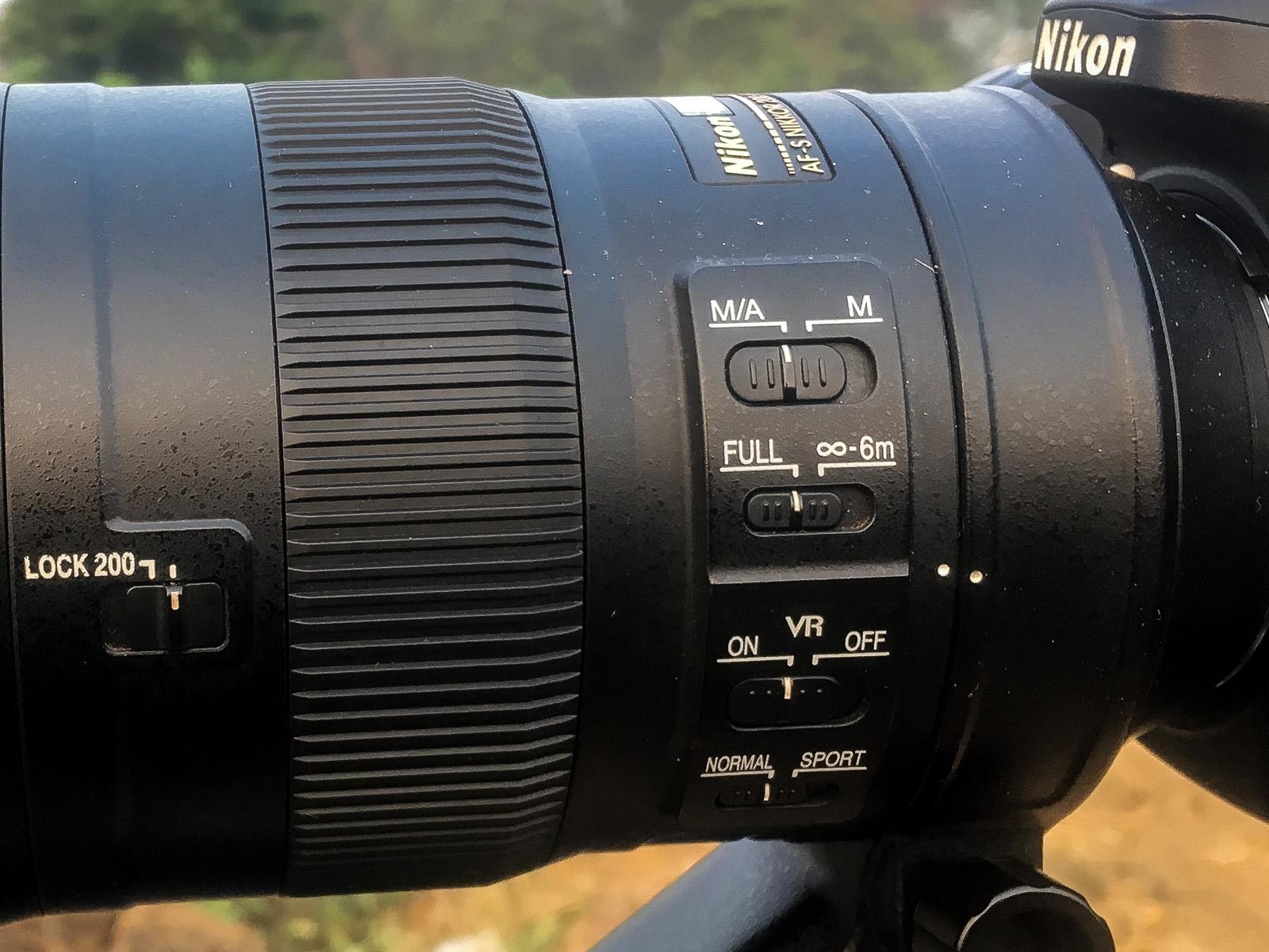 Image: Lens controls