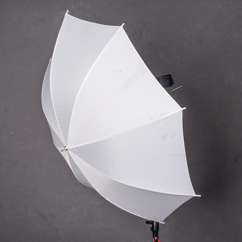 umbrella on a stand