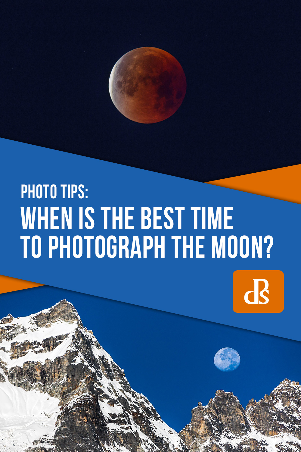 best time to photograph the moon