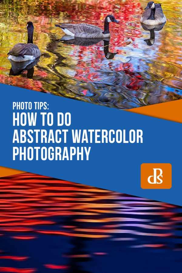 How to do Abstract Watercolor Photography