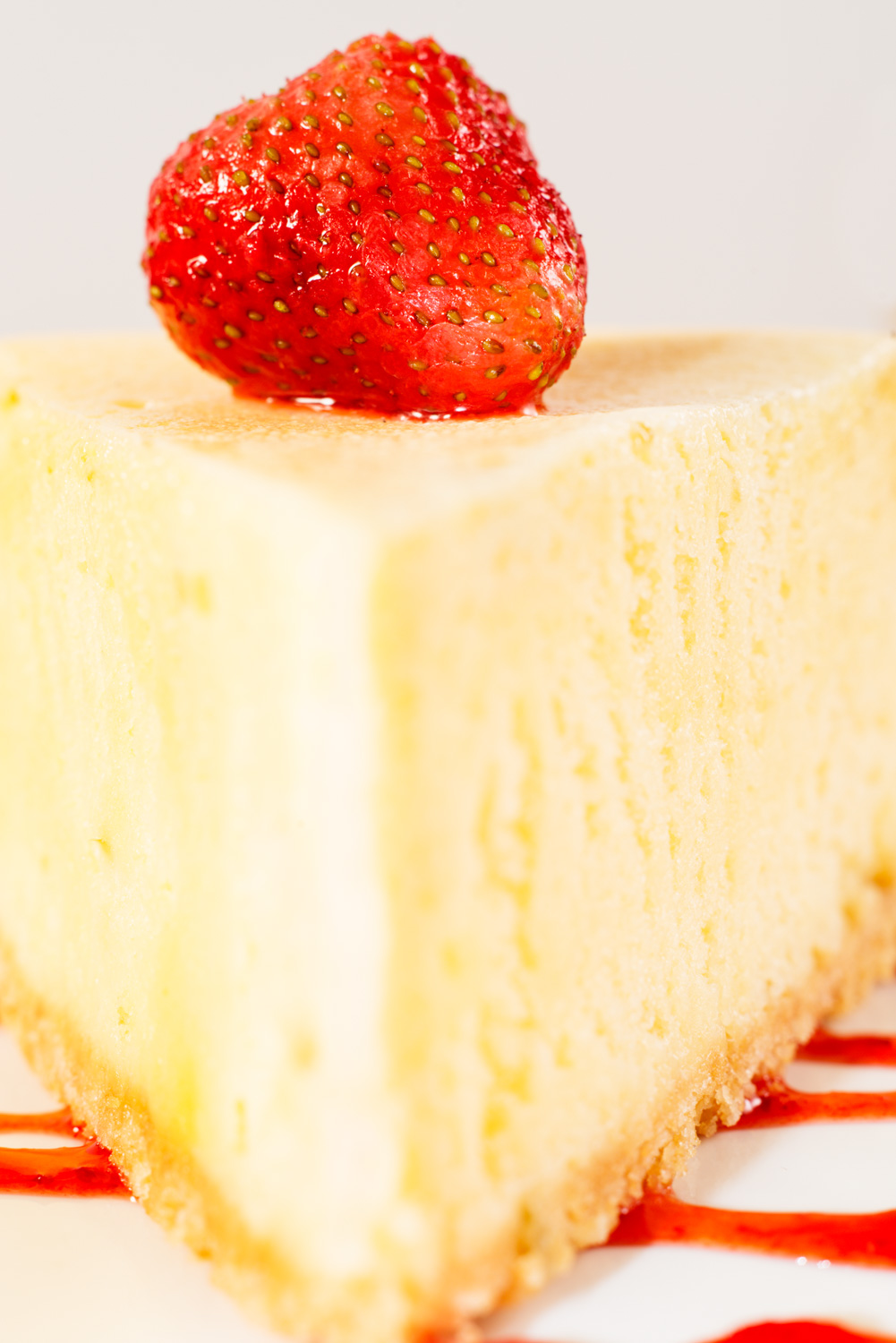 How To Make Better High Key Photographs Strawberry Cheesecake