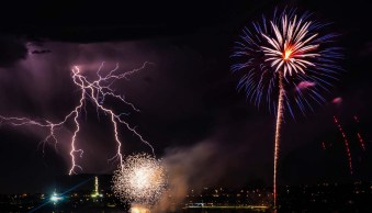 Behind the Shot: Fireworks and Lightning