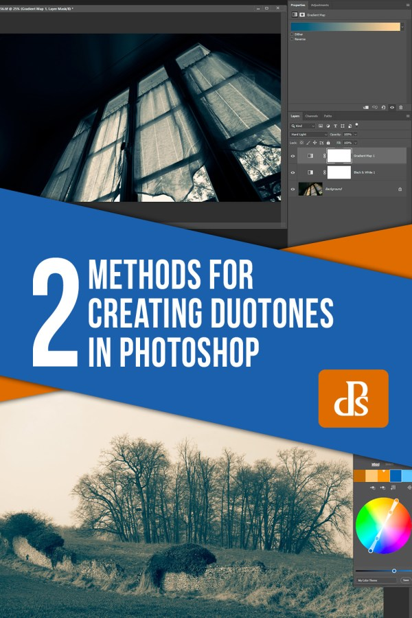 2 Methods for Creating Duotones in Photoshop