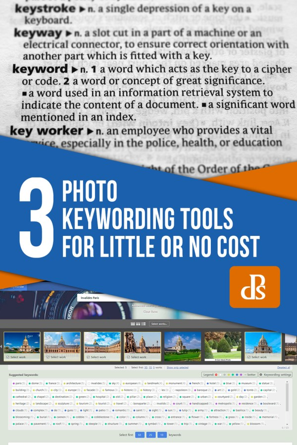3 Photo Keywording Tools for Little or No Cost