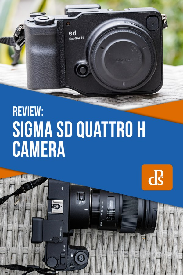 Sigma sd Quattro H Digital Camera Vidpro VB-H Top Hand Grip for DSLRs Cameras and Camcorders