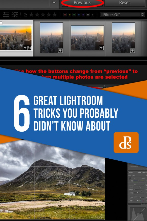 6 Great Lightroom Tricks You Probably Didn't Know About