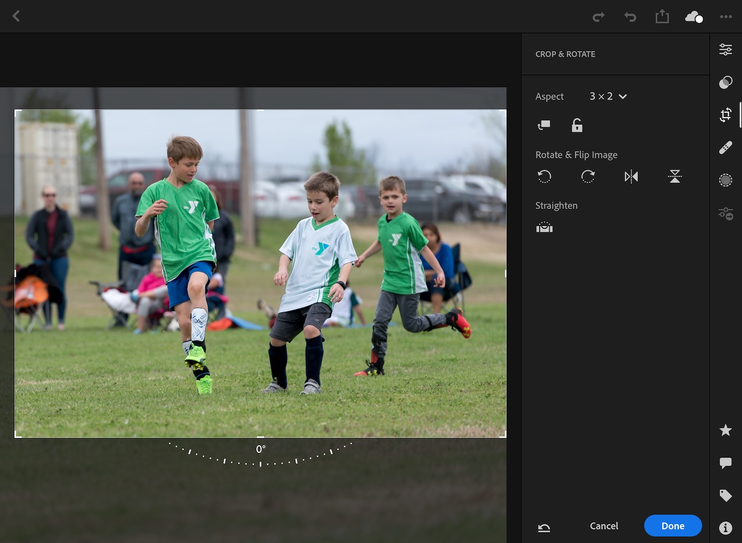 Image: Lightroom on an iPad, even a basic version and not an iPad Pro, is extremely fast, smooth and ...