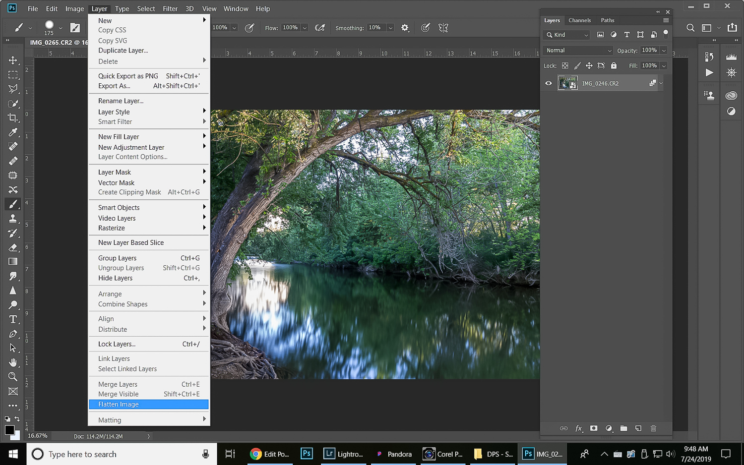 How to simulate long exposure using stacked image processing