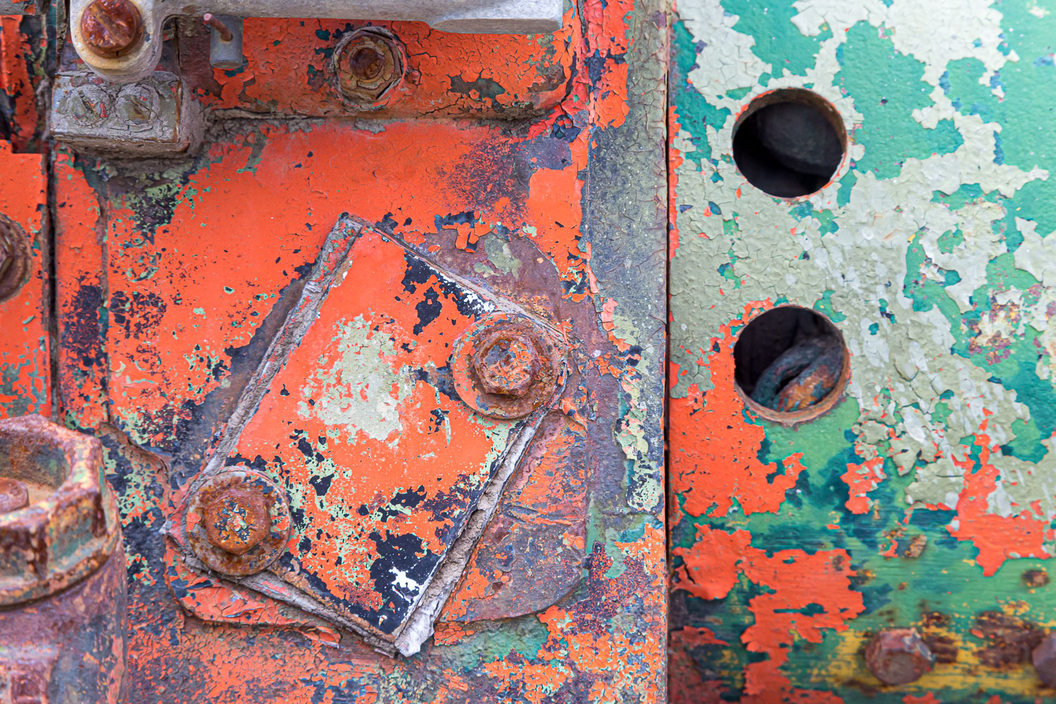 junkyard abstract automotive photography
