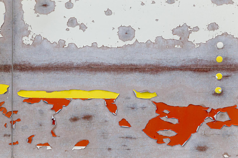 abstract car paint peeling