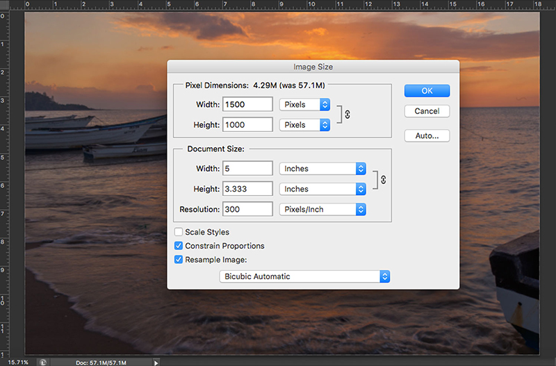 resizing images post-processing tips
