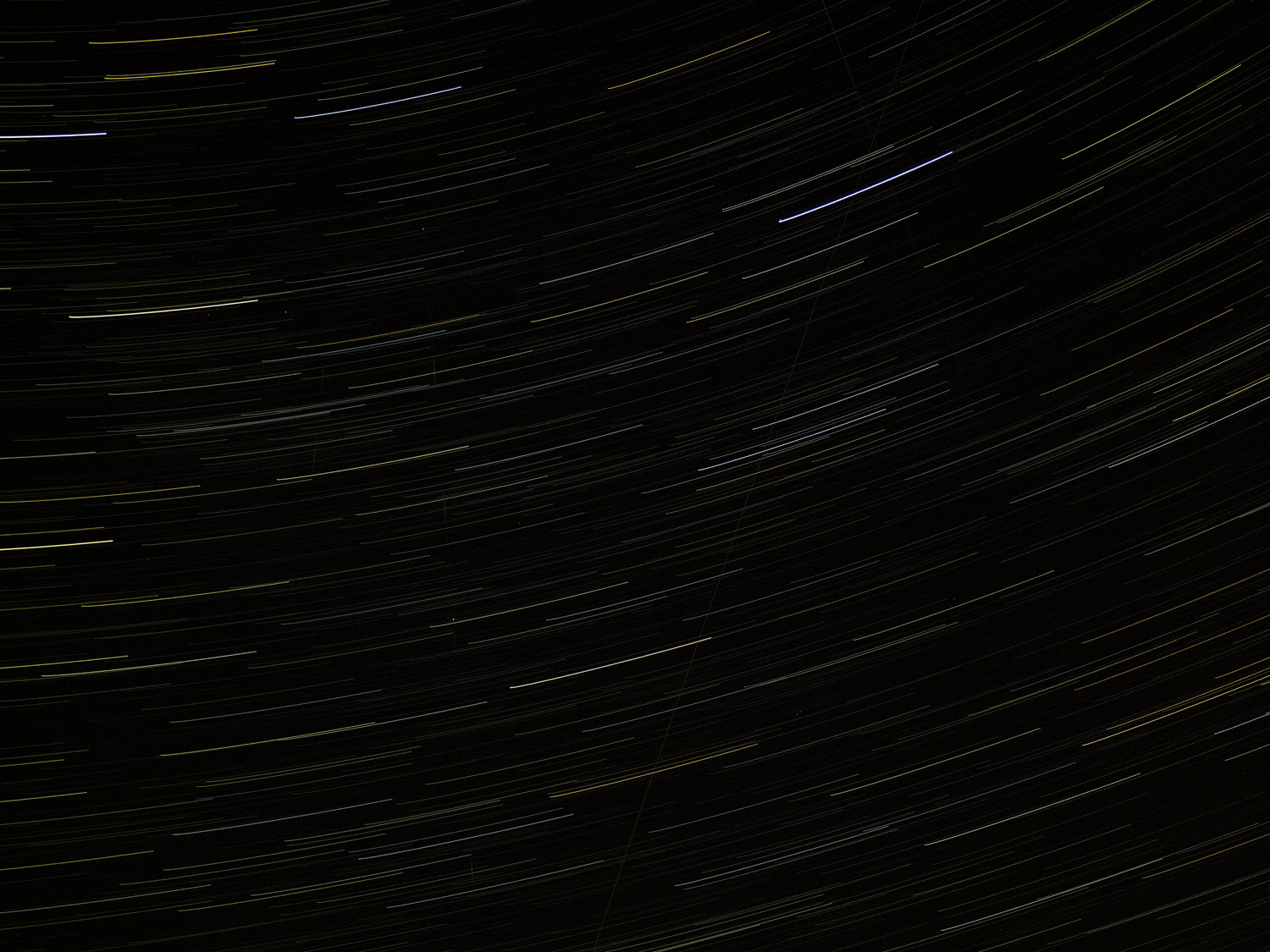 Image: Star trails occur when you take astrophotography shots and leave the shutter open for an exte...