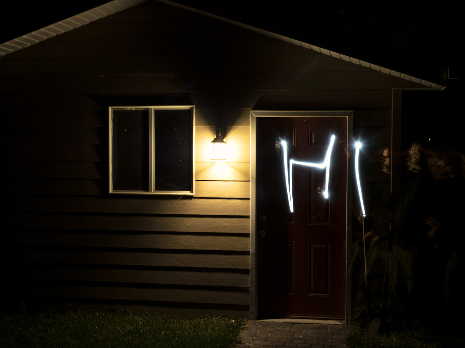 Image: Live composite allows you to do light painting with light sources present in the image (not t...