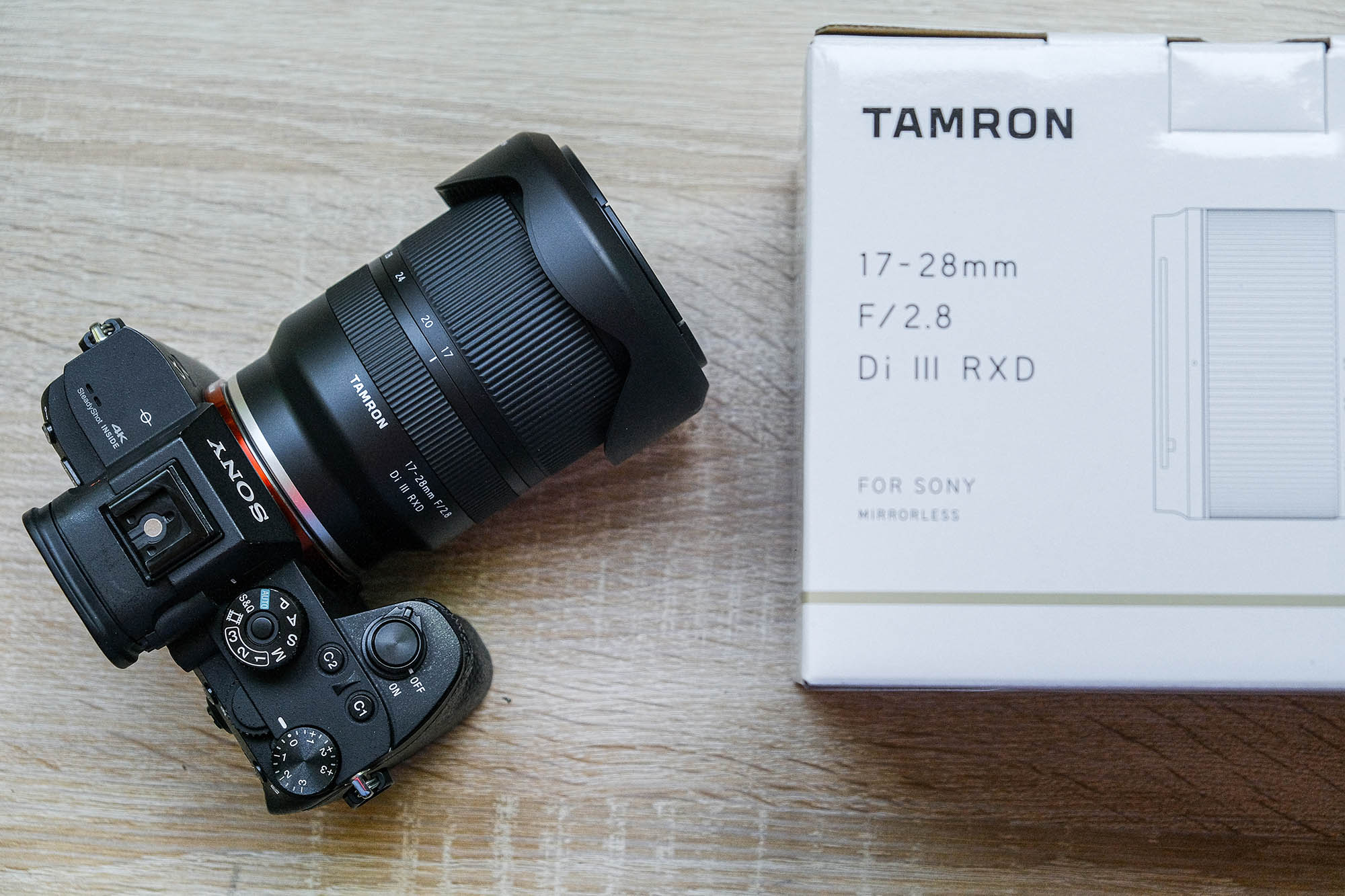 Tamron 17-28mm for Sony E-Mount