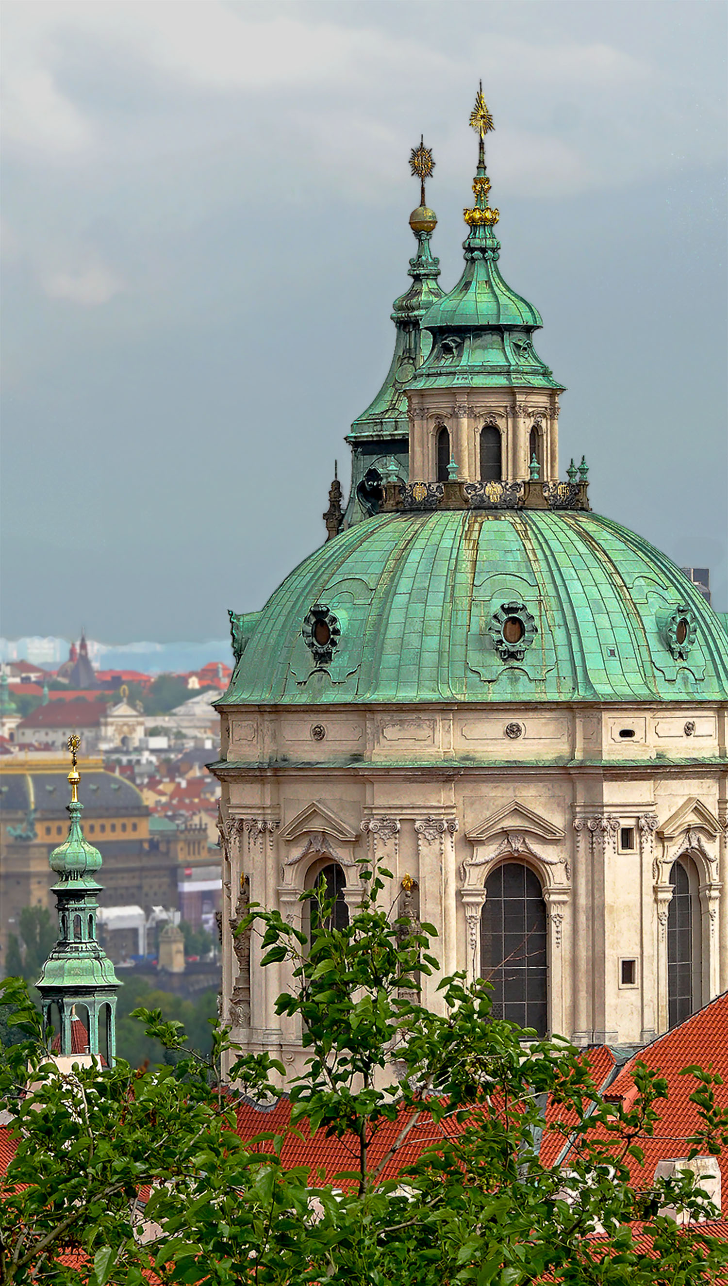 Image: Seeing this domed rooftop from an adjoining property delivered a unique view. If I'd ca...