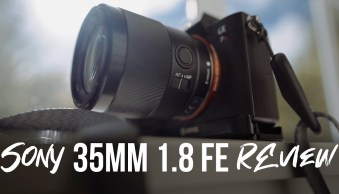 Sony 35mm 1.8 FE Lens Review [video]
