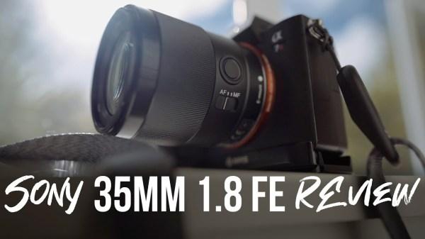 Sony 35mm 1.8 FE Lens Review