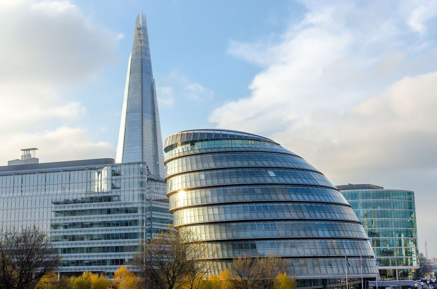 Image: London's amazing architecture along the Thames.
