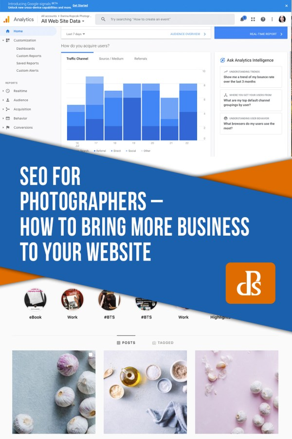 SEO For Photographers – How to Bring More Business to Your Site