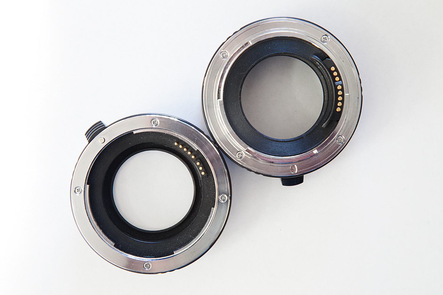 extension tubes together