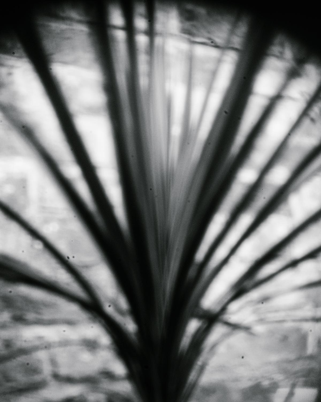 creative pinhole shot of shapes