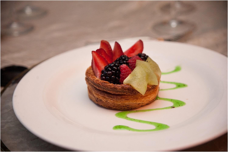 dessert on a wedding day