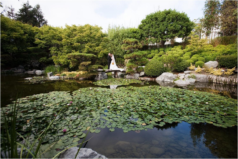 wedding pond garden
