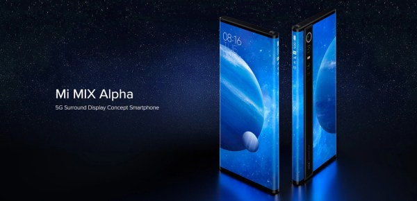 New Smartphone Includes a 108-Megapixel Camera and Wraparound Display