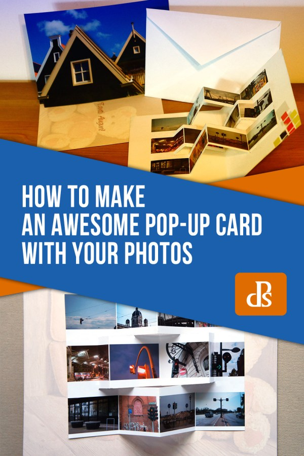 How to Make an Awesome Pop-Up Card with your Photos