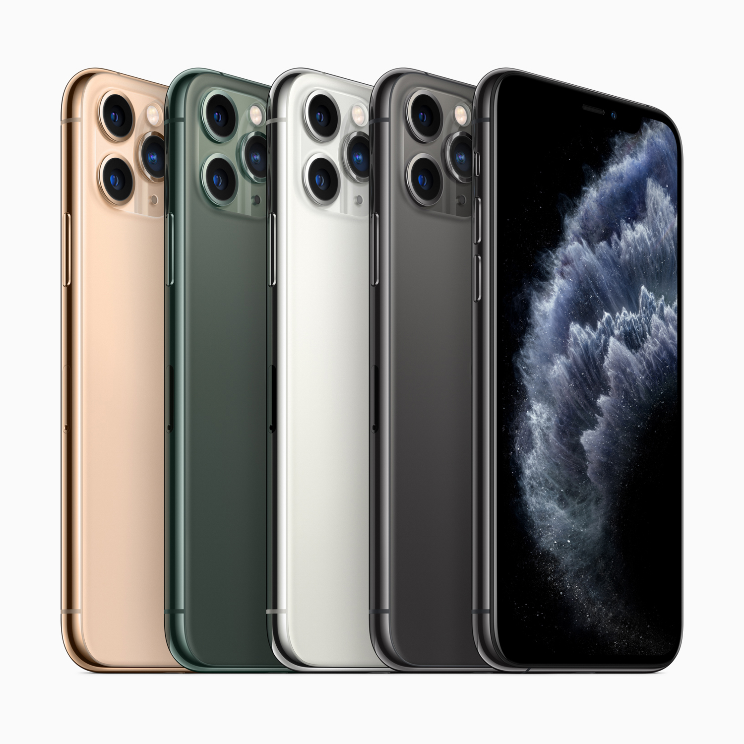 The iPhone 11 Pro Features a New Triple Lens and Night Mode
