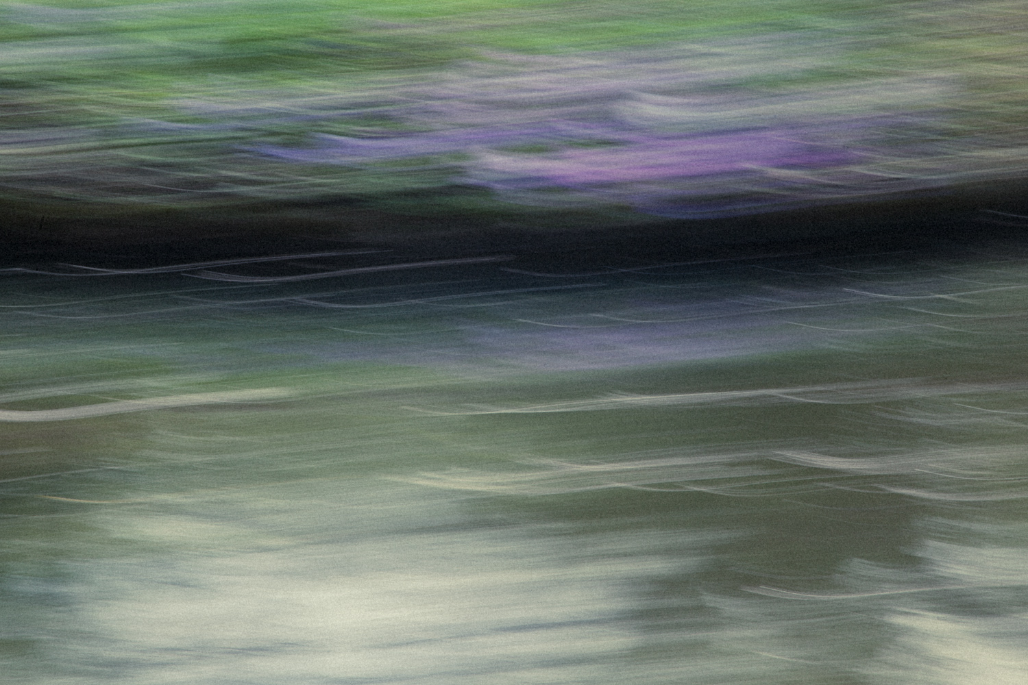 Image: This image was created on a visit to Monet's home in Giverny in France where he painted...