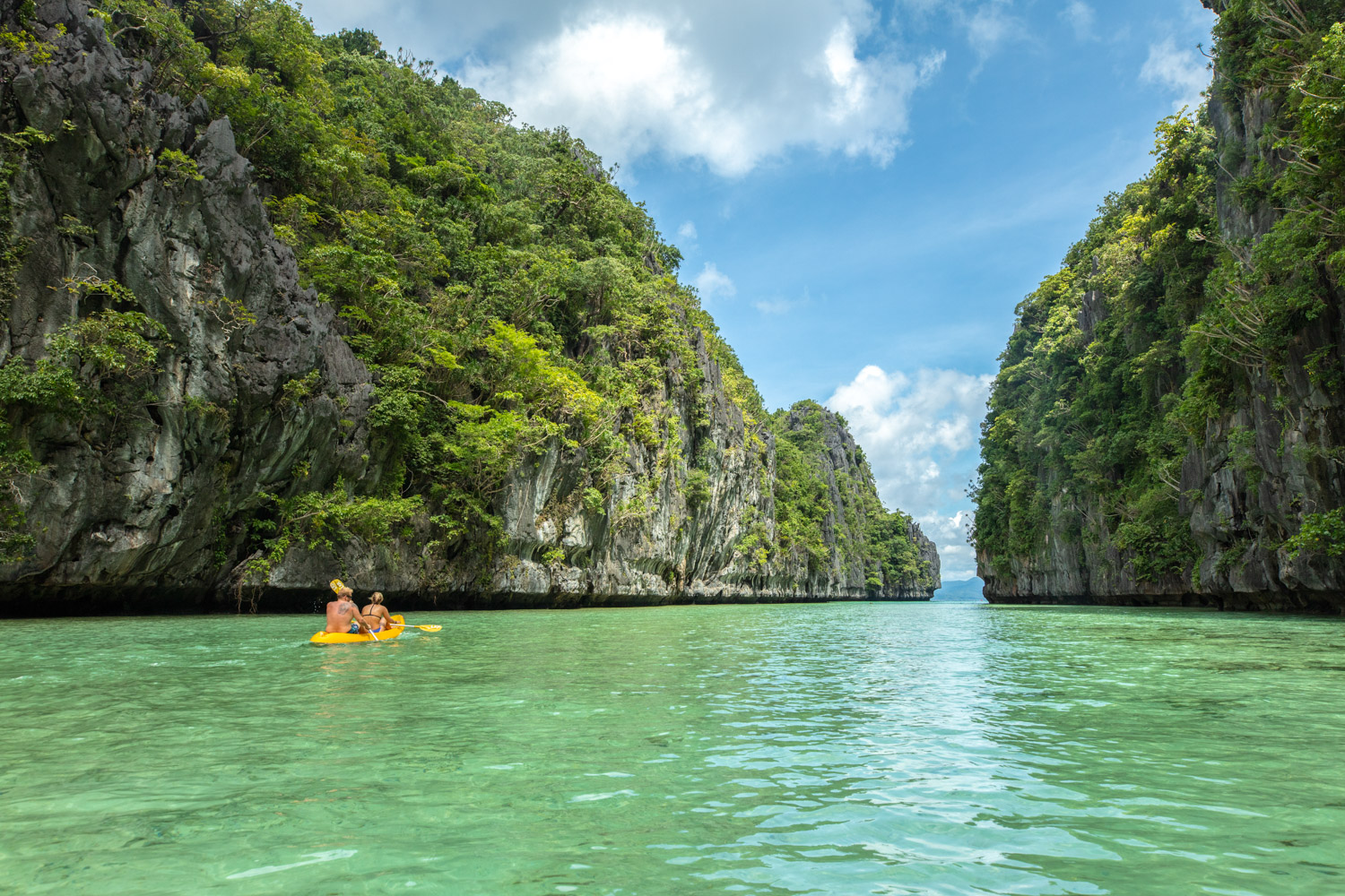 Image: Kayaking in the Philippines