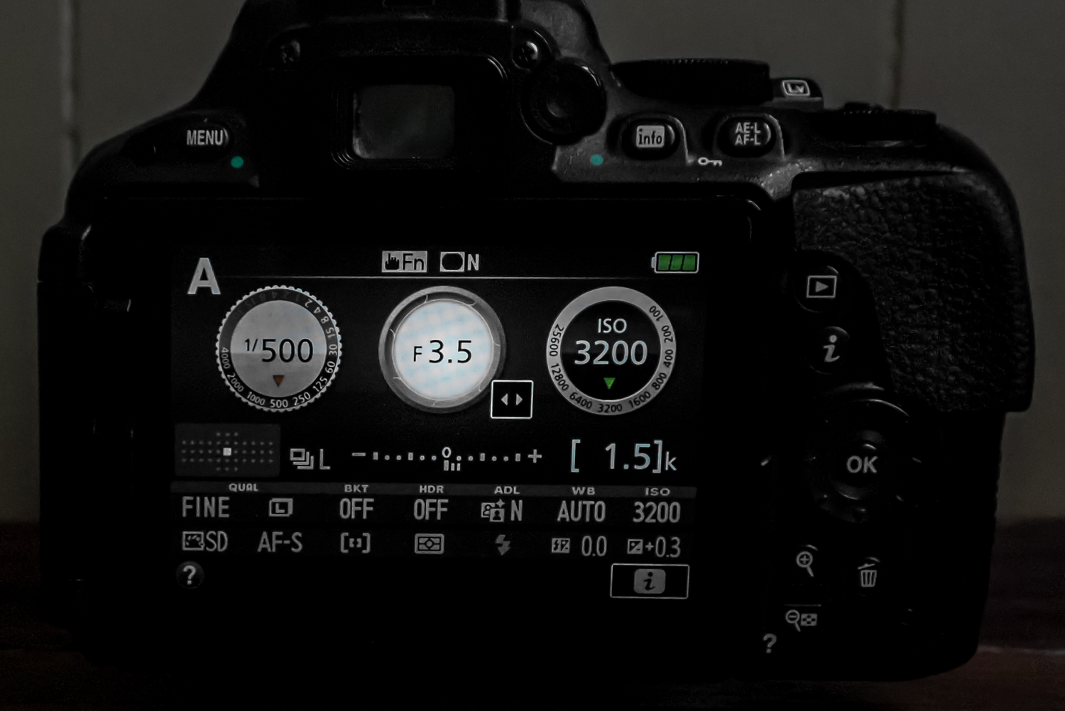 things aperture mode is perfect for