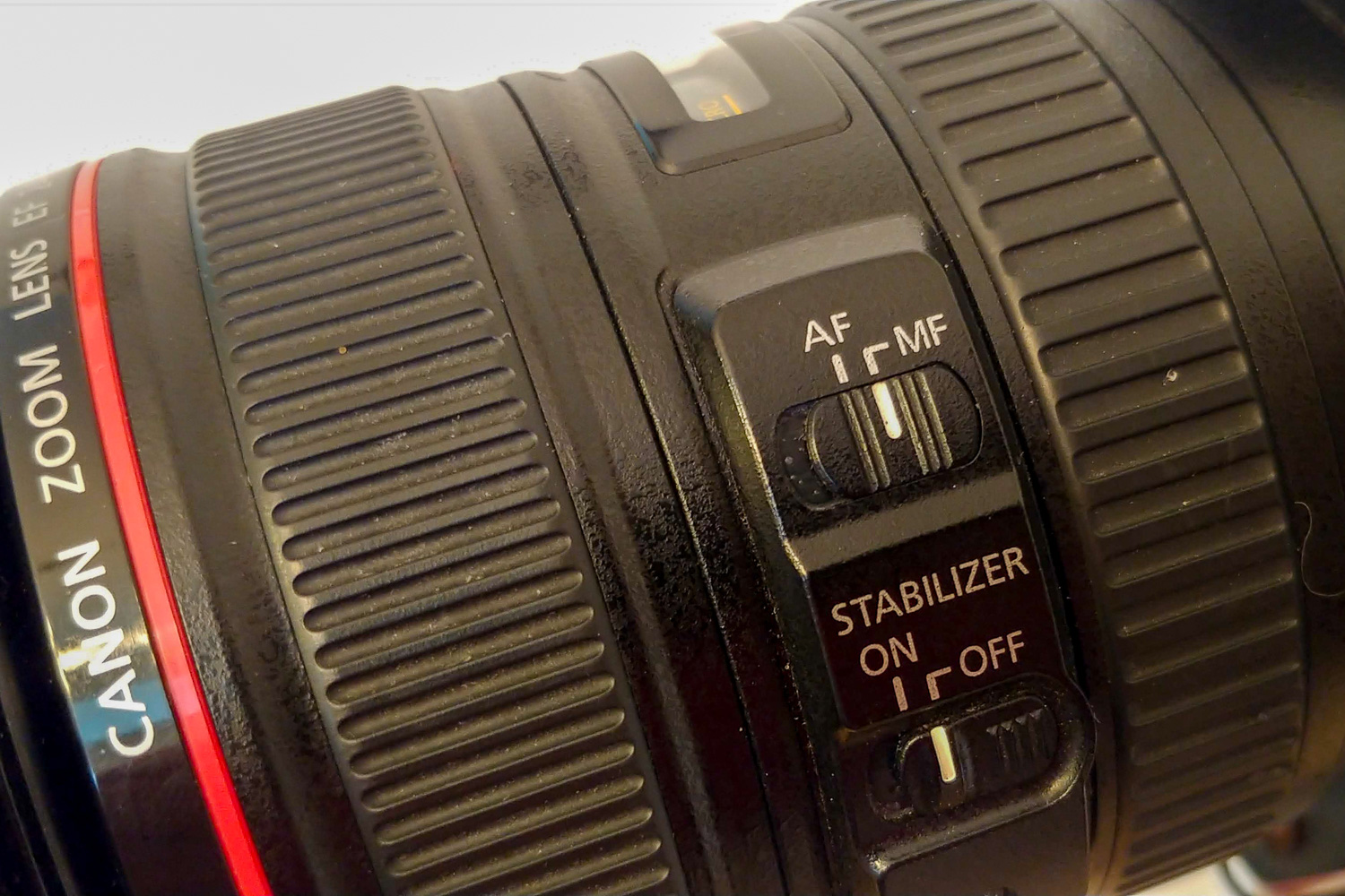 Image: Did you forget to turn on the Autofocus switch? Or used Manual Focus and then forget to turn...