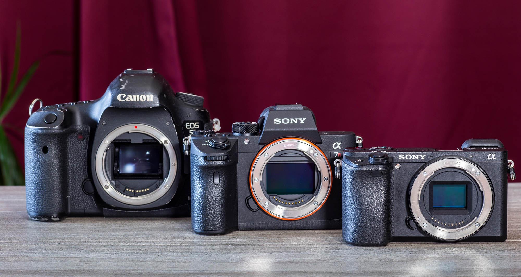 Canon versus Sony