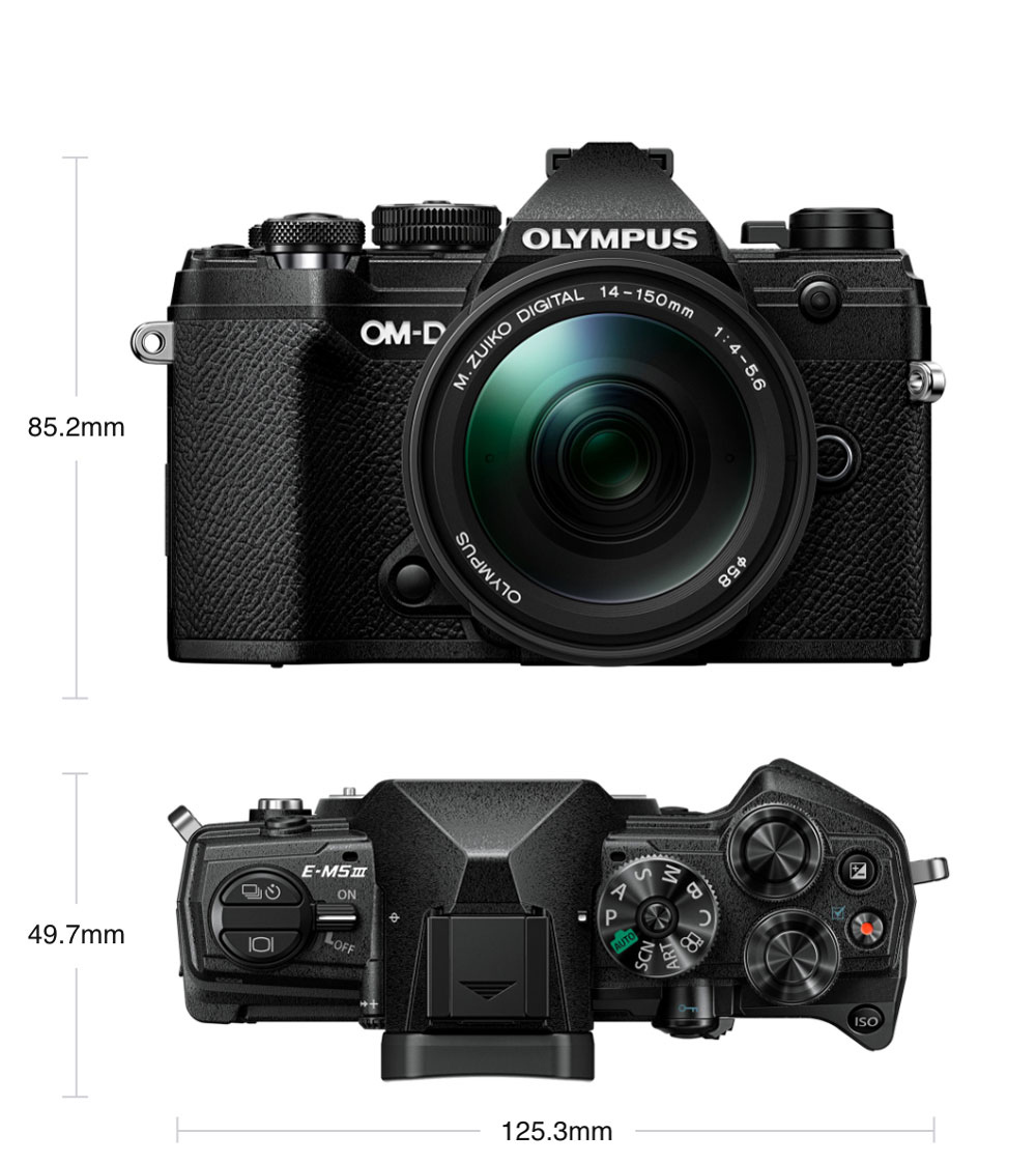 Image: The new Olympus EM5 Mark III was recently announced (from Olympus promotional material at get...