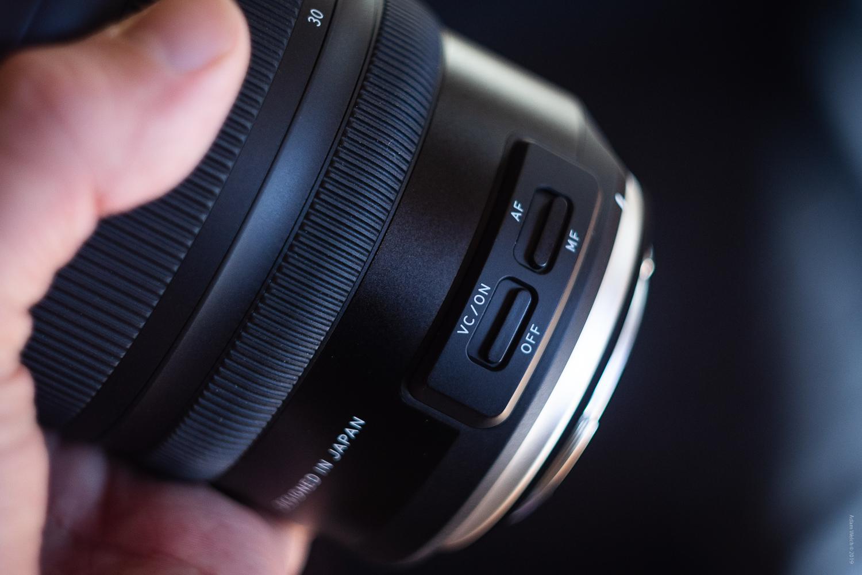 Lens image stabilization